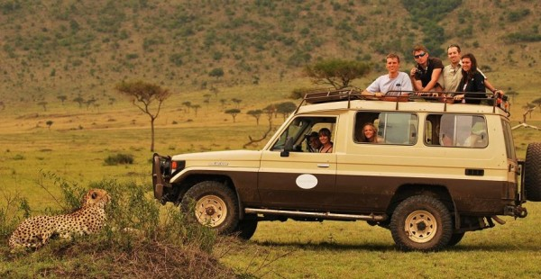 Mara West safari vehicle